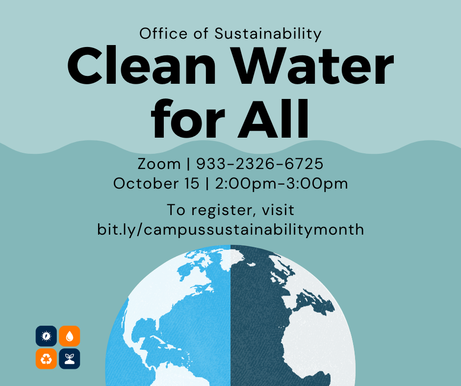 Clean Water flyer
